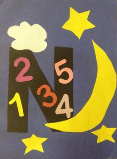 Letter N is for Night and Numbers