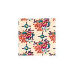Tissu Sierra Oiseau Summer x 10cm