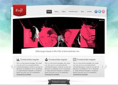 Free HTML5 CSS3 Templates Which You Should Download