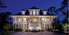 Plantation House Plan with 3285 Square Feet and 3 Bedrooms from Dream Home Source   House Plan Code DHSW17069