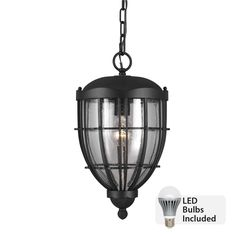 #LED bulbs are truly the innovative way to light your home! Outdoor Ceiling Lights, Outdoor Hanging Lanterns, Outdoor Lighting, Outdoor Lantern, Led Light Fixtures, Residential Lighting, Hanging Pendants, Cool Lighting