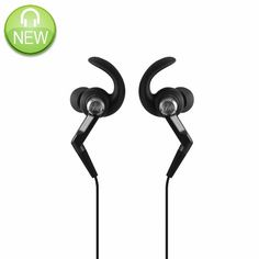 The clever C-tips nestle in the outer ear, for comfortable, secure sports performance.