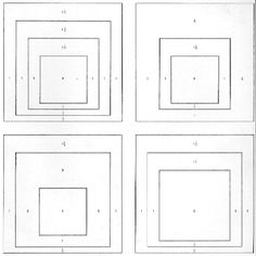 """From Werner Spies:""""Albers"""" Harry N. Abrams, Inc., New York From the Homage to the Square series, p. 49"""