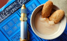 "Doctor Who / Modified ""fish fingers"" and Custard recipe for your wibbly wobbly Doctor Who marathon"