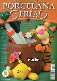 Revistas de manualidades Gratis: porcelana fria