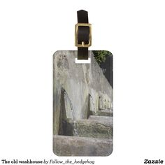 old washhouse luggage tag - Travel Accessories, Luggage Bags, Travel Style, Old Things, Basins, Tags, Ecuador, Perspective, Initials