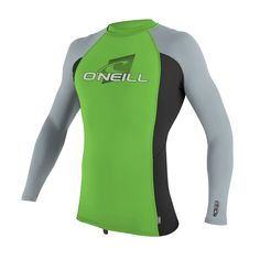 Canoeing - O Neill Skins Long Sleeve Crew Rashguard Age 34 Dglo/blk/coolgry -- Want additional information? Click the picture. (This is an affiliate link). Canoe Accessories, Canoeing, Rash Guard, Wetsuit, Fashion Brands, Age, Link, Long Sleeve, Outfits
