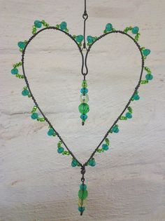 Wire Crafts, Bead Crafts, Arts And Crafts, Wire Wrapped Jewelry, Wire Jewelry, Copper Wire Art, Wire Ornaments, Diy Wind Chimes, Wire Weaving