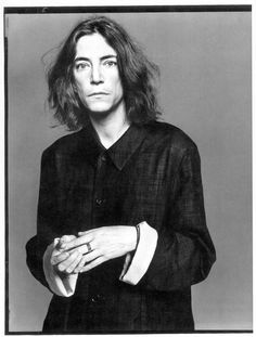Patti Smith by Richard Avedon