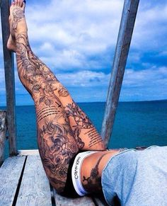 "Tattoos & Trainers on Twitter: ""Do you prefer leg sleeves, or arm ..."