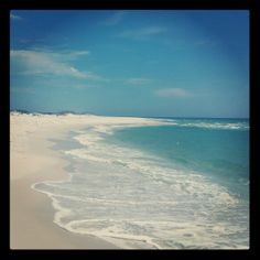 My favorite part of Langdon Beach near Fort Pickens, Florida.  Amazing seashell hunting!!