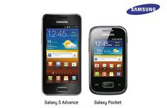 """Here is the latest report that Samsung's two new products are finally launches India and name of these products are """"Galaxy S Advance"""" and """" Pocket""""."""