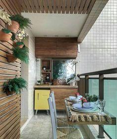 Adorable Mini Bar Design Ideas On Your Apartment Balcony Apartment Balcony Decorating, Apartment Balconies, Cool Apartments, Small Balcony Decor, Balcony Design, Balcony Ideas, Balcony Garden, Balcony Bar, Mini Bars