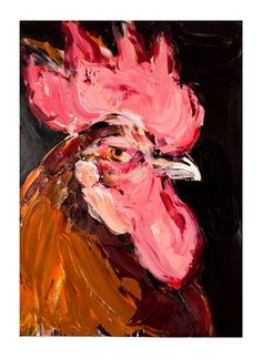 Angus by Craig Waddell Contemporary Artists, Projects To Try, Birds, Gallery, Roosters, Animals, Inspiration, Image, Beautiful