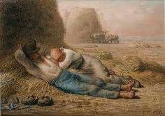 Jean-François Millet Noonday rest (The siesta) Boston Museum of Fine Arts Vincent Van Gogh, Camille Pissarro, Paul Gauguin, Millet Paintings, French Paintings, Jean Antoine Watteau, Jean Francois Millet, Van Gogh Self Portrait, Barbizon School