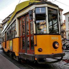 Ed ecco il mitico 1  : RunnerGiuseppe  #milanodavedere #trammilano Milano da Vedere
