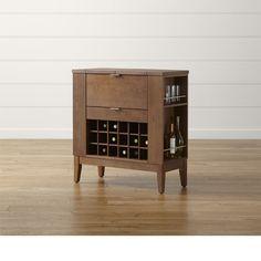 Parker Spirits Bourbon Cabinet | Crate and Barrel