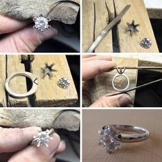 From the workshopcreating Amy and Matt's engagement ring  #workshop #behindthescenes #engagementring