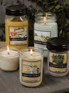 Kitchen Pantry Jar Collection - Lemon Icebox Cookies.  My favorite summer candle ever!!