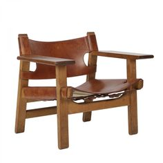Børge Mogensen Pair of Spanish chairs