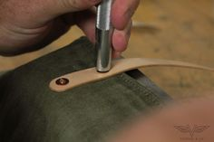 VanHook & Co.: Waxed Canvas & Leather Backpack