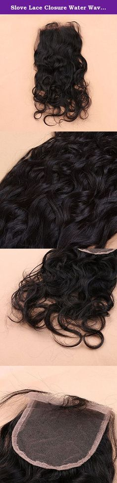Slove Lace Closure Water Wave Natural Wave Remy Unprocessed Brazilian Virgin Human Hair Free Part Bleached Knots 4x4 Base Size 16 inches with Baby Hair. Products Specs: Brand Name:Slove Item Type:Lace Closure Material:100% Virgin Human Hair Texture:Water Wave/Natural Wave Part Style:Free Part Made Method:Hand Tied Base Size:4x4 inches Base Material:Swiss Lace,Medium Brown Density:130% Grade:7A/8A Note: 1.We have a complete full product line such as human hair wigs,human hair…