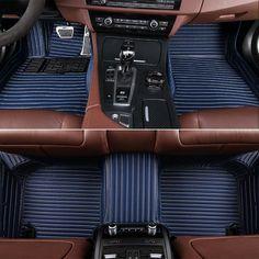 Custom car floor mats for Volkswagen Passat polo Caddy Toyota RAV4 Land Cruiser Prado200 150 120 Corolla 3D car-styling carpet #Affiliate