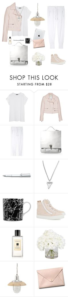 """getting the monday groove on"" by barngirl ❤ liked on Polyvore featuring Balmain, rag & bone, Isabel Marant, Proenza Schouler, Lamy, Givenchy, Kelly Wearstler, Giuseppe Zanotti, Jo Malone and Ethan Allen"