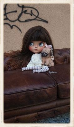 JUNO Ooak Custom Blythe Artist Doll by ByAlsw on Etsy