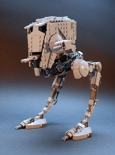 """AT-ST LEGO MOC v2.3"" by GolPlaysWithLego: Pimped from Flickr"