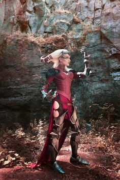 wonderful cosplay of Flemeth from Dragon Age