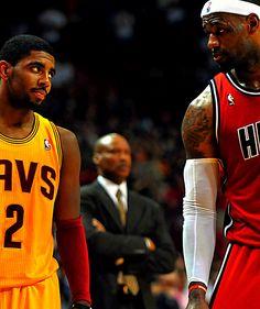 Kyrie Irving & LeBron James