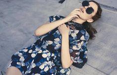Caitlin Ricketts @ Wilhelmina Models for Ben Travato. Photography by Lara Jade.
