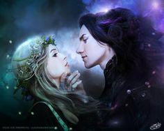 Hades and Persephone by AlexandraVBach,deviantart