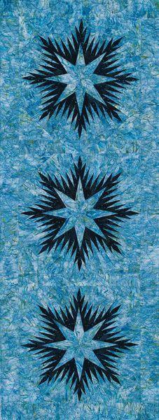 Winter Wonderland Table Runner pattern by Judy Niemeyer