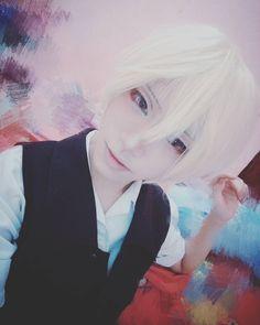 Butler(?) #me #selfie #makeup #bored #cosplayer #cosplay #animeguy #anime #animecosplay #visualkei #ulzzang #ulzzangboy #ulzzanggirl #asian #manga #otaku #asianboy #asiangirl #jacket #effect #cosplaymakeup #messy #japanese #korean #chinese #kuc #butler
