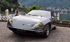 1966 Lamborghini Flying Star II (also named Lamborghini 400 GT Flying Star II) - a prototype concept car built by Carrozzeria Touring on a Lamborghini front engine chassis.