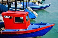 Boat at Mazzorbo Island Venice