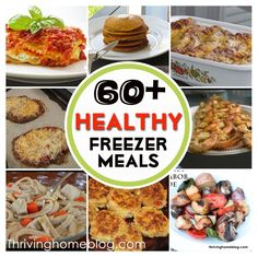 Thriving Home Blog - Healthy Freezer Meals -- Great for Healthy Freezer Meals club/exchange.