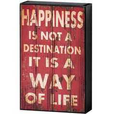 5-6,25gbp Happiness  Shelf  Plaque
