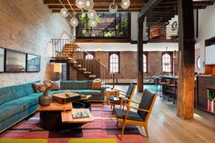 New York loft in a former warehouse