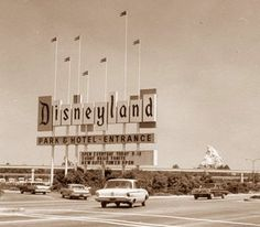 I am the same age as Disneyland and lived close enough to go every summer, ah those where the days.  I actually remember this, not that I'm aging myself or anything.