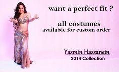 Atelier Yasmin Hassanein - Trajes para Dança do Ventre - Bellydance Costumes: Bellydance Costumes / Trajes Dança do Ventre by Ya...