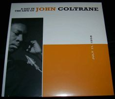 A Day In The Life of John Coltrane 2xLP Van Gelder HQ-180 Gram Audiophile Import Vinyl Record Jazz