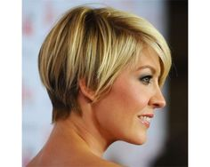 Short bob with trendy colouring