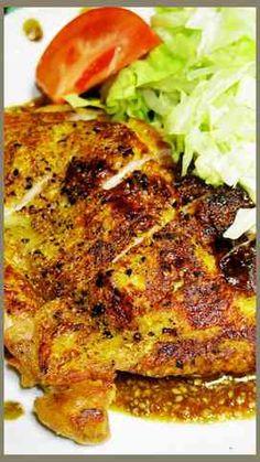 鶏モモ肉のうまいうまい焼き