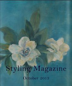 a stunning new issue of Styling magazine - Sharon Santoni