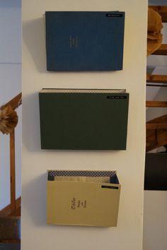 Basteln mit alten Büchern, Briefablage selber machen, DIY Briefablage, DIY Dokumentenablage, DIY Ordnungssystem, Dokumentenablage selber machen, Ordnung machen, Ordnungssystem selber machen