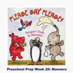 Teaching manners to 3-5 year olds.