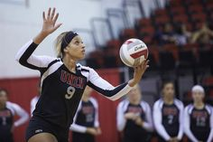 Bree Hammel totaled 30 kills to help unbeaten UNLV to two volleyball victories…